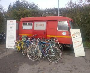 Station de collecte de vélos