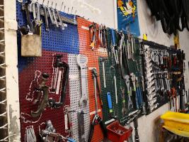 Panneau d'outils
