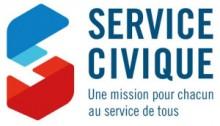 Logotype et slogna Service civique